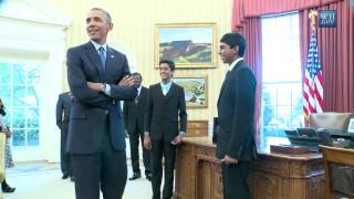 Obama Fails Against Spelling Bee Champs