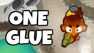 How Long Can You Survive With 1 Wizard Monkey? (Bloons TD 6)