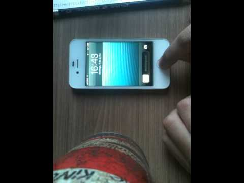 Another way to open the Phone app IOS 6.1.3 Bypass.