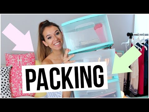 How To Pack For College: Move In Day!