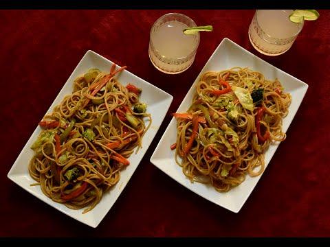 Healthy Vegetable Noodles