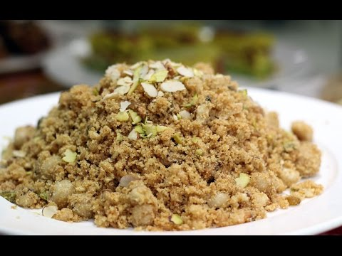 Panjiri Recipe - How To Make Panjiri - Easy Food Recipes