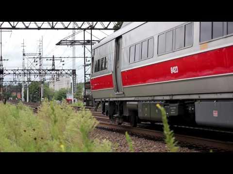 Amtrak & Metro-North at Norwalk, CT