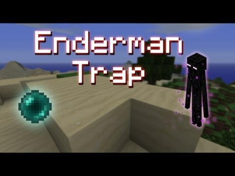 [TUT] Minecraft: Cool Enderman TNT Trap [720p]