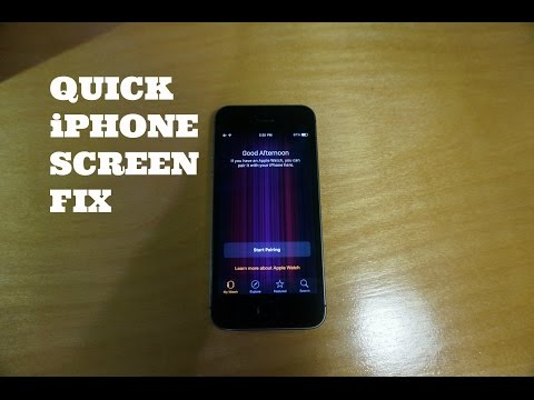 Fix iPhone with Purple Vertical Bars