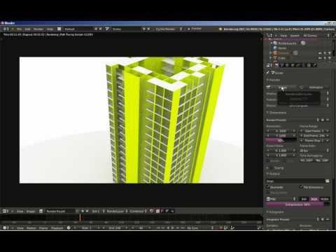 Blender: Building Generator