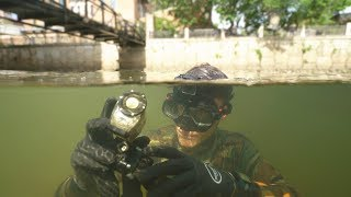 Found Waterproof Camera Lost 2 Months Ago! (Reviewing the Footage) - Returned to Owner! | DALLMYD