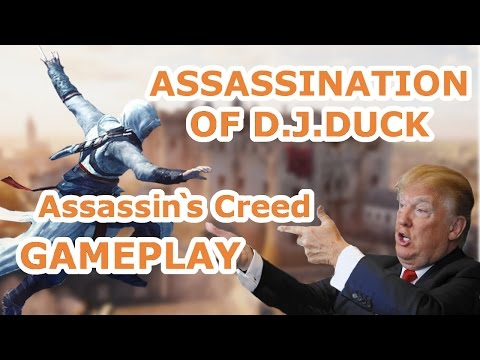 ASSASSINATION OF D.J.DUCK!! - Assassin`s Creed Unity Gameplay [FUNNY MOMENTS]