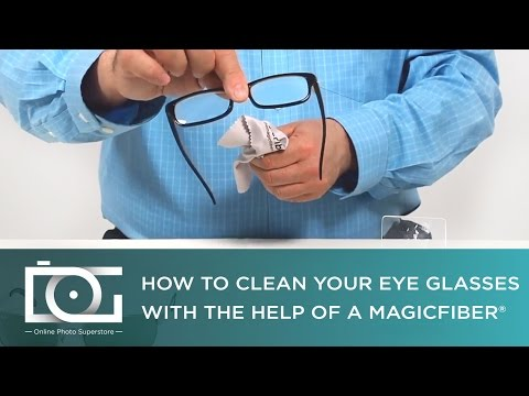 Best Way to Clean Your Eyeglasses | MagicFiber Video TUTORIAL