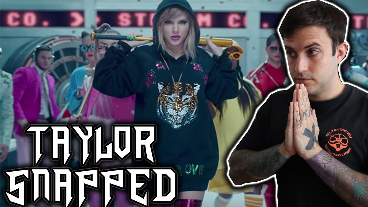 Taylor Swift- Look What You Made Me Do Video REACTION
