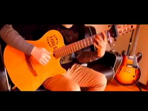 Kalafina Hikari no Senritsu on Guitar 光の旋律 ソロギター Spider Capo MOD
