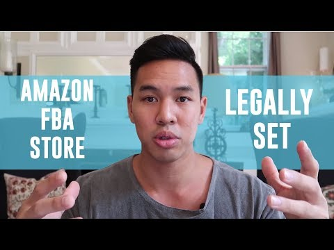 The BEST Way To LEGALLY Set Your Amazon FBA Store Up