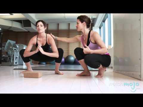 Yoga: How to do the Crow Pose