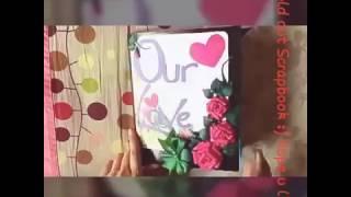 Handmade lovebook for someone special