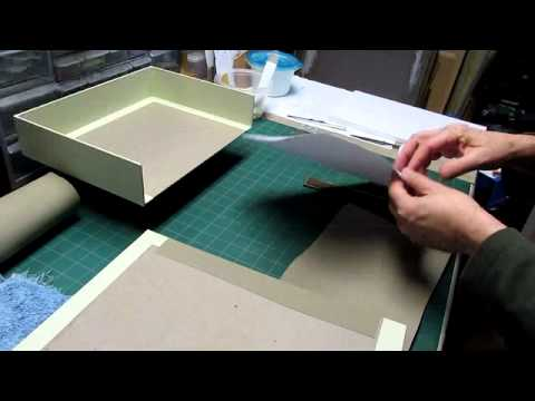 Clamshell Box - Part 4 - Lining the Trays