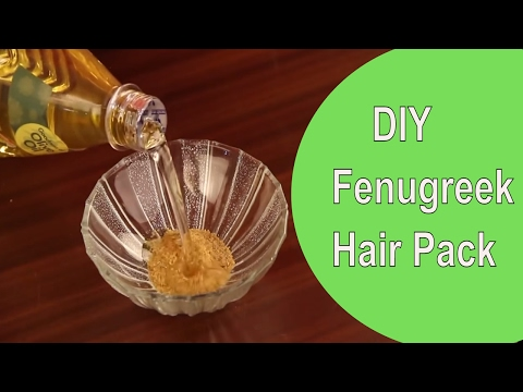 FENUGREEK HAIR PACK for Hair Loss | DIY Easy Hair Mask To Stop Hair fall | StyleCraze