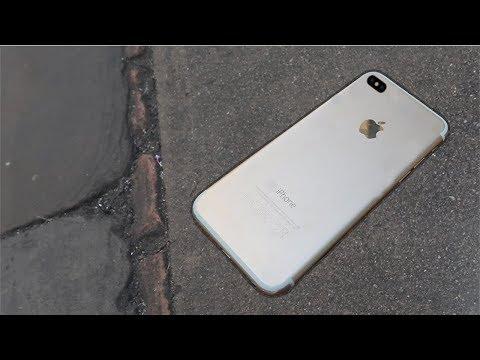 IPHONE 8 STUCK TO FLOOR PRANK ON THE PUBLIC!!