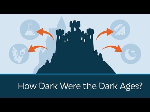 How Dark Were the Dark Ages?