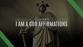 I Am A God Affirmations - Higher Self Affirmations - Godlike Empowerment - Hemisync Binaural Beats