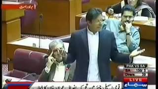 Imran Khan national assembly  speech 11 November 2013