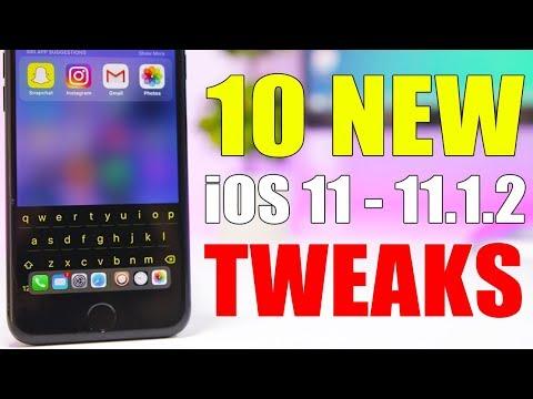 10 All NEW iOS 11 - 11.1.2 Jailbreak Tweaks !