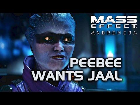 Mass Effect Andromeda - Peebee Wants Jaal (Gil's poker logs)