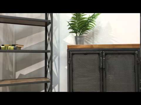 Industrial Office Furniture Design - Modern Industrial - L shape office desk