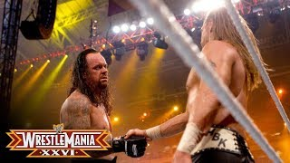 WrestleMania XXVI: The Undertaker shows respect to Shawn Michaels