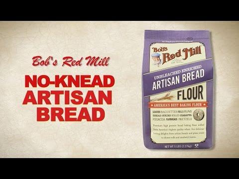 Artisan Bread Flour | No-Knead Artisan Bread Recipe | Bob's Red Mill
