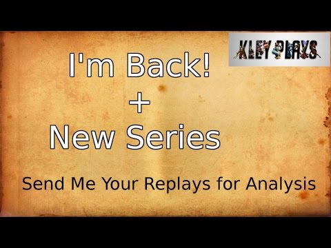 I'm Back! + New Series - Send Me Replays