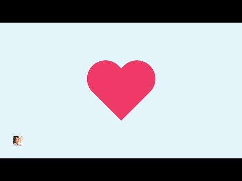 [TUTO] Create A Heart Icon | Adobe Illustrator | 720p HD