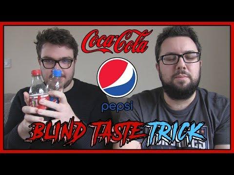 Coca-Cola VS Pepsi Blind Taste TRICK | MJ TRICKED!