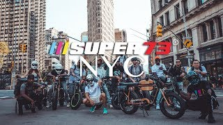 Super73 NYC -  East Meets West!