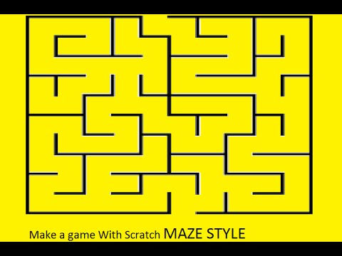 How to make a maze game on scratch