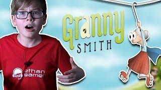 GRANNY HAS ROLLER SKATES!!? xD