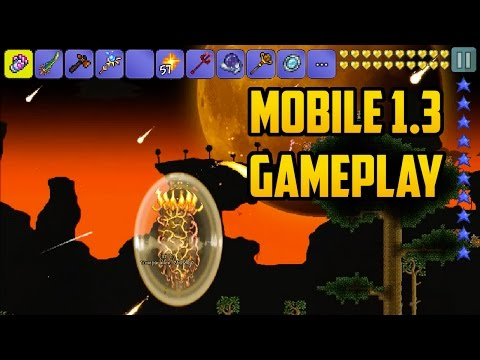 Terraria Mobile 1.3 Gameplay!!! | Concept Video made by ThwartedZero57