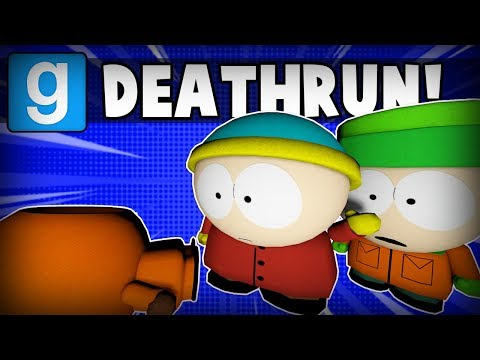 GOING DOWN TO SOUTHPARK - Gmod Deathrun Funny Moments