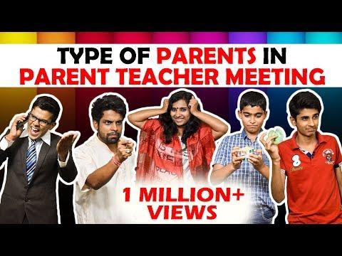 Types of Parents in Parent-Teacher meeting   The Half-Ticket Shows