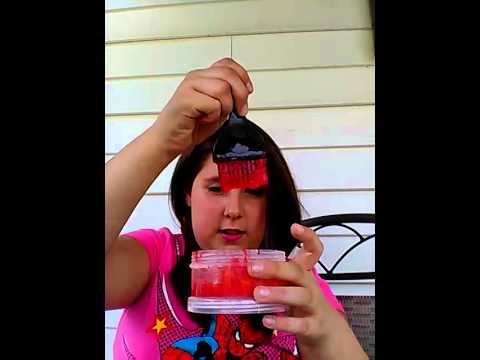 Diy hair dye out of crayola markers!!!!!