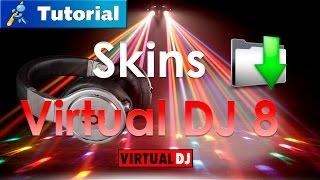 Como descargar e instalar Virtual Dj 8 Full español + SKINS-2015