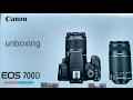 (Telugu) Canon 700D Dual Kit Lens unboxing Video