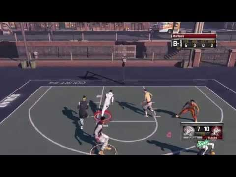 NBA 2K15 MyPark PS4 Gameplay ft. Paige | 3 point lessons