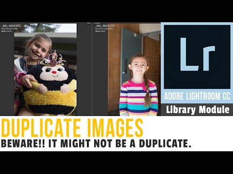 Duplicate Images in Lightroom