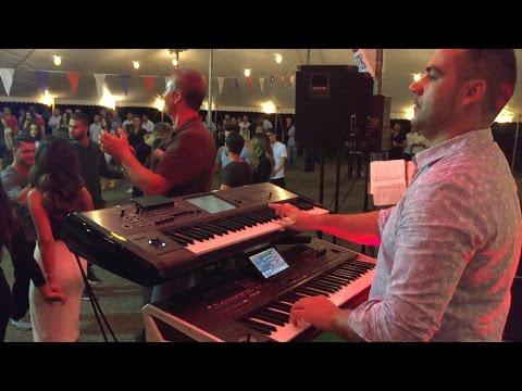 Albert Abedini - Albanian Festival - Kisha Zoja Pajtore - Live Music (Keyboard: Elvis Tershana)