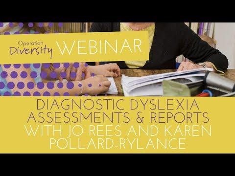 Diagnostic Dyslexia Assessments & Reports
