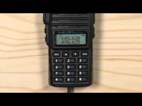 How to Easily Add a Channel on the BaoFeng Handheld Radio (without a PC)