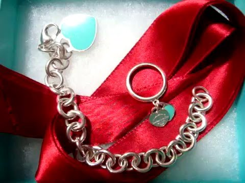REVIEW: Tiffany & Co. blue enamel heart tag bracelet & ring + How I keep them looking new!