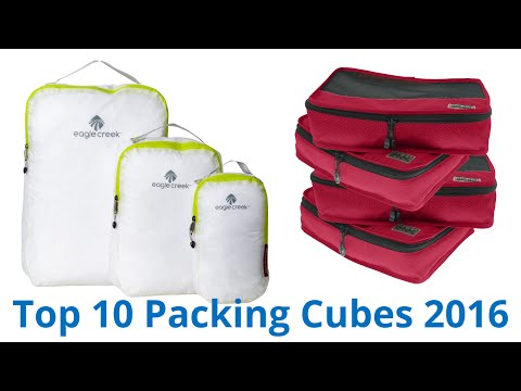 10 Best Packing Cubes 2016