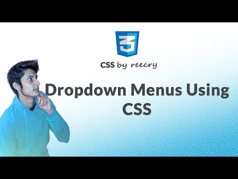 How to Create drop downs Sub menus using CSS in hindi