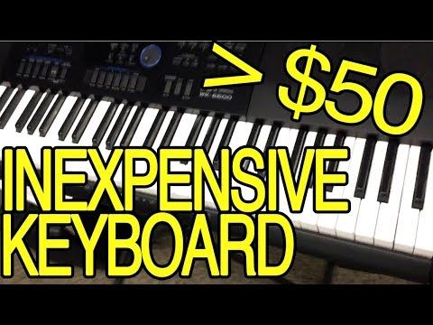 How To Buy & Learn Piano Keyboard Cheap Under $50